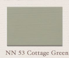 Cottage green nn53 painting the past