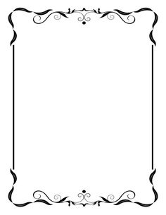 free black clip art borders and frames weddings custom vintage rh pinterest com clip art borders and frames free clip art borders and frames with backgrounds