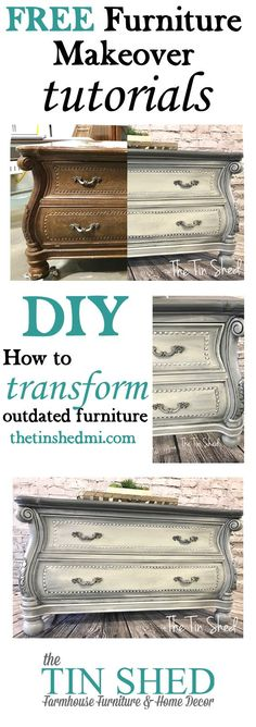 How to create a blended finish on painted furniture