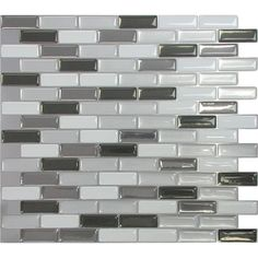 Whether you're planning a master bath renovation or just a quick kitchen update, this eye-catching mosaic tile adds bold style to your home....