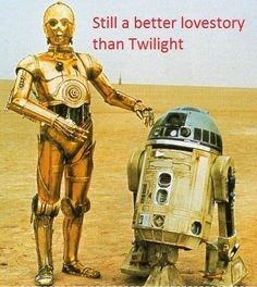 I would call it the first galactic bromance, but they are too old married couple for that Lol