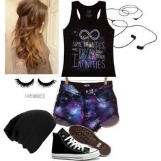 """""""Teen Outfit #34"""" by kaelarabbit on Polyvore"""