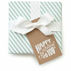 Sugar Paper Happy Birthday Tags