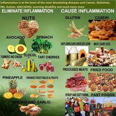 Pro Inflammatory Diet Food List And Anti - Inflammatory Diet Food List ◬