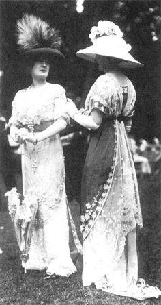 La ropa de mujer y la historia de la sociedad - TenEstilo 1913