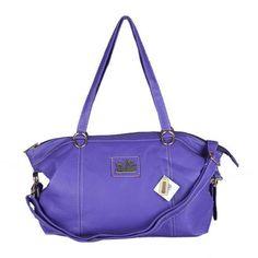 Look Here! Coach Bleecker Logo Charm Medium Purple Satchels DWO Outlet Online