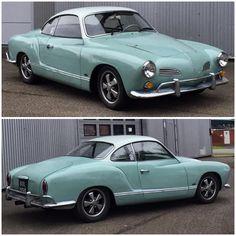 Vintage Cars, Antique Cars, Karmann Ghia Convertible, Volkswagen Karmann Ghia, Car Stuff, Car Car, Muscle Cars, Hot Rods, Classic Cars