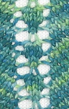 Pineapple Increase Stitch Pattern - Abigail Phelps http://www.ravelry.com/patterns/library/pineapple-increase-stitch-pattern
