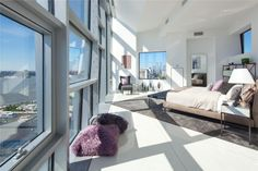 100 11th Avenue Penhthouse in Chelsea, New York by Jean Nouvel