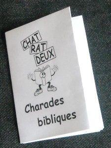 Petit livre de charades bibliques à télécharger sur le blog Choisis la Vie