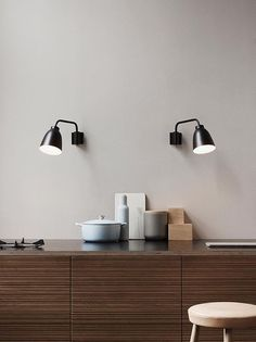 Fritz Hansen Lighting Caravaggio W Wit van Cecilie Manz kopen Caravaggio, Fritz Hansen, Berlin Design, Office Lamp, Design Moderne, Kitchen Lighting, Kitchen Interior, Home And Living, Living Room