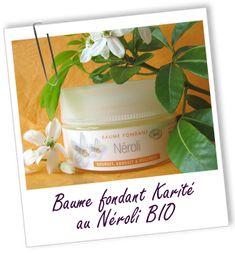 Baume fondant BIO au Karité et au NéROLI Aroma-Zone