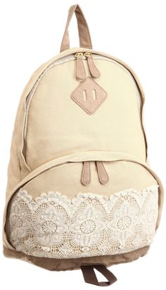 lace backpack $65