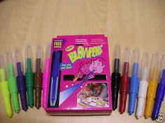 Blow Pens!! These were so fun but made you dizzy so fast!!   #90s