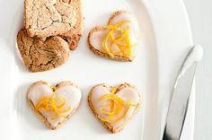 Bezlepková citronová srdíčka | Apetitonline.cz  Glutenfree citrus cookies