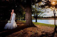 Wedding Bride photography strobe