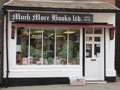 """<a href=""""https://www.facebook.com/muchmorebooksandmuchmoremusic/"""" target=""""_blank"""">Much More Books</a>, Much Wenlock"""