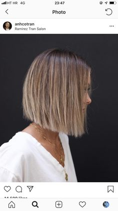 Bob Haircut for Fine Hair frisuren frauen frisuren männer hair hair styles hair women Bob Haircut For Fine Hair, Bob Hairstyles For Fine Hair, Short Bob Haircuts, Haircut Bob, Blunt Hairstyles, Hairstyles 2018, Short Blunt Haircut, 2018 Haircuts, Bob Hairstyles Brunette