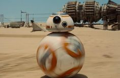 Star Wars: The Force Awakens: BB-8 Droid We Fell In Love With Was Never On Episode 7 Set #bb-8 #spherobb8 #bb8 #starwars #friki
