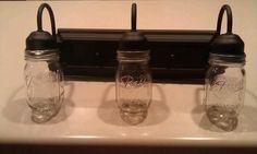 Ebay bathroom mason jar lights