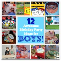 12 Awesome Birthday Party Ideas For Boys