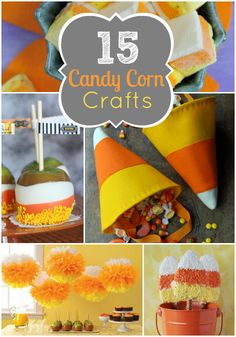 15 Cute Candy Corn Projects