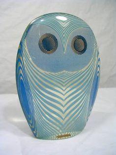 Lucite sculpture by Abraham Palatnik (1970's): Owl
