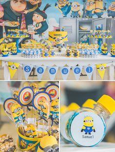 Minions Birthday Minions Party Minions Party por Layouteria