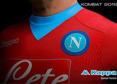 SSC Napoli 2015/16 Kappa Third Kit
