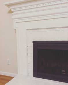 Transformingourdated brick-and-brass fireplace into afresh and versatile focal point was as simple as a fresh coat of paint in this almost idiot-proof DIY.
