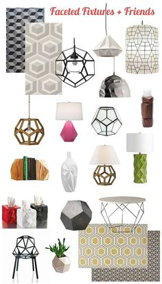 What's Hot? Faceted Lighting!