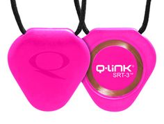 http://www.qlinkproducts.com/Scripts/prodView.asp?idProduct=1&idAff=14000 Pink SRT-3 Q-Link Pendant - Sleek and chic, with a dual-tone design, this beveled-edge triangle has two distinct sides, each making a unique statement. It can be worn by both men and women as a signature piece, dressed up or down.