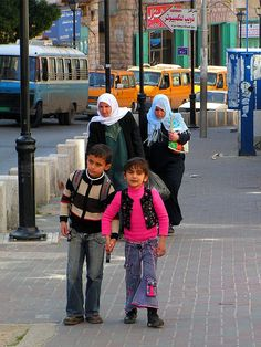 On the way from school - Bethlehem, West Bank