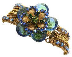 Miriam Haskell Bracelet c. 1960s. Robert Clark design.
