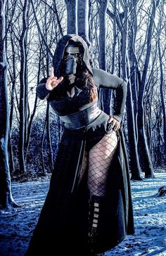 Ivy Doomkitty Joins The First Order In This Kylo Ren Cosplay