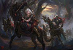Wild Hunt by Dead-Wintera on DeviantArt