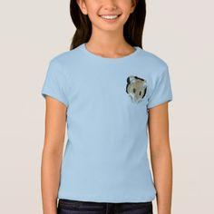 Animal Art Cute Mouse Peeking Out Watercolor art T-Shirt - humor funny fun humour humorous gift idea