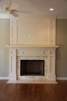 159737118007176080 Fireplace surround want to do this to my fireplace with cabinets/shelves on either side
