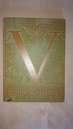 1943 Cauldron Yearbook Downers Grove Community High School Illinois