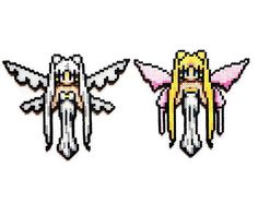 Princess Serena Sailor Moon Perler Pattern