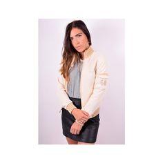 Puma Womens Vintage Tracksuit Top Jacket Medium Beige 90's (€20) ❤ liked on Polyvore featuring activewear and vintage sportswear