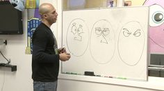Drawing Cartoons with Emotion ~  Sirron Norris ~ KQED education