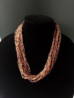 Rose Gold Copper Graduating Bib Necklace Set Fashion Jewelry NEW