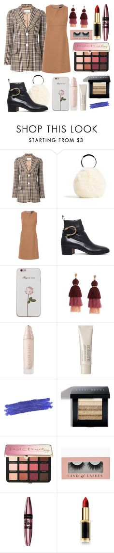 """""""🔑"""" by chooseonecool ❤ liked on Polyvore featuring Gucci, Weekend Max Mara, Laura Mercier, By Terry, Bobbi Brown Cosmetics, Sephora Collection, Maybelline, L'Oréal Paris, Fall and sunday"""