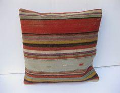 Burlap decorative burlap pillow throw cover Authentic Dunn Bros