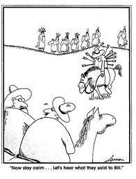 the Far Side - Gary Larson - comic genius