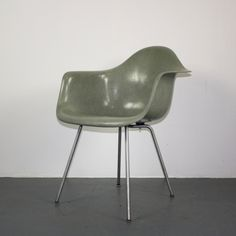 Eames Herman Miller LAX Chair in Seafoam Green