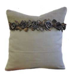 Not sure about the actual flowers or the burlap for that matter, lol, but I like the overall darker,trim,lighter.