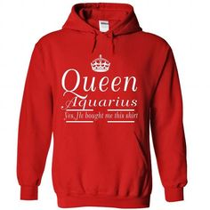aquarius queen - #tshirt packaging #disney sweater. BEST BUY => https://www.sunfrog.com/LifeStyle/aquarius-queen-4290-Red-Hoodie.html?68278