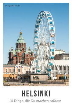 10 Dinge, die Du in Helsinki machen solltest